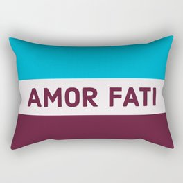 AMOR FATI - STOIC WISDOM Rectangular Pillow