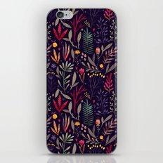 Botanical pattern iPhone Skin