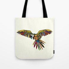 harlequin parrot cream Tote Bag