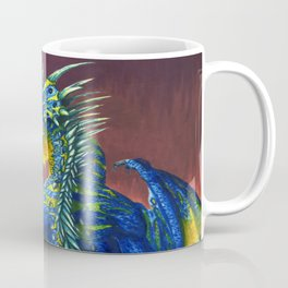 Horned Dragon Coffee Mug