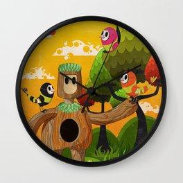 Treeborn Wall Clock
