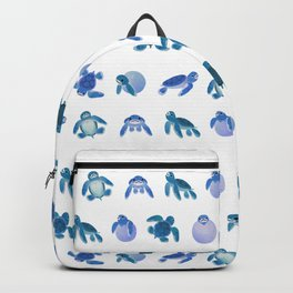 Baby sea turtles Backpack