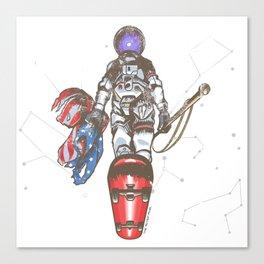 The Last Spaceman Canvas Print