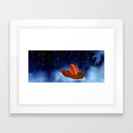 Goldfish at the End of the World Framed Art Print