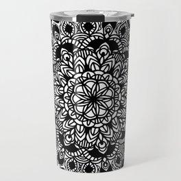 Mandala: detailed and hand-drawn Travel Mug