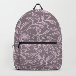 Ballet Slipper Lace Floral Backpack