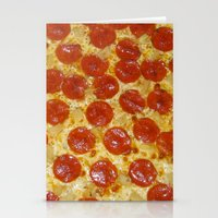 pizza Stationery Cards featuring Pizza by Katieb1013