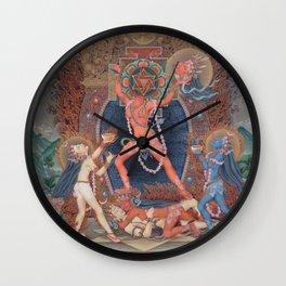 Hindu - Kali 3 Wall Clock