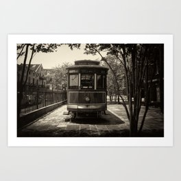 Streetcar Named Desire - New Orleans 1988 Art Print