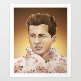 Charlie Puth Art Print