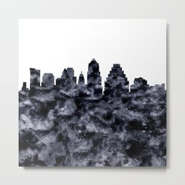 Austin Skyline Texas Metal Print