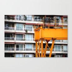 Balconies Canvas Print
