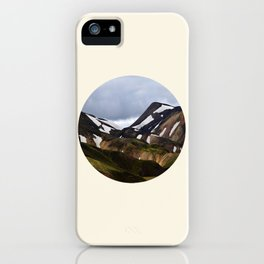 Melting Snow Mountain iPhone Case