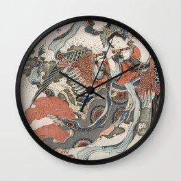 Mystical Bird Wall Clock