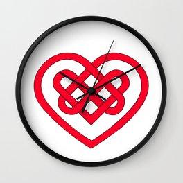 Celtic Heart (Light) Wall Clock