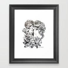 Sugar Twins Framed Art Print