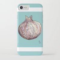 pomegranate iPhone & iPod Cases featuring Pomegranate by Ursula Rodgers