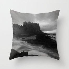 Evening at Dunluce Throw Pillow