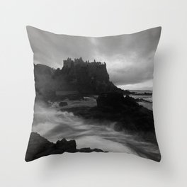 Evening at Dunluce Throw Pillow
