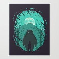 Scary Monsters and Nice Sprites Canvas Print