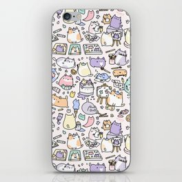 Artsy Cats iPhone Skin