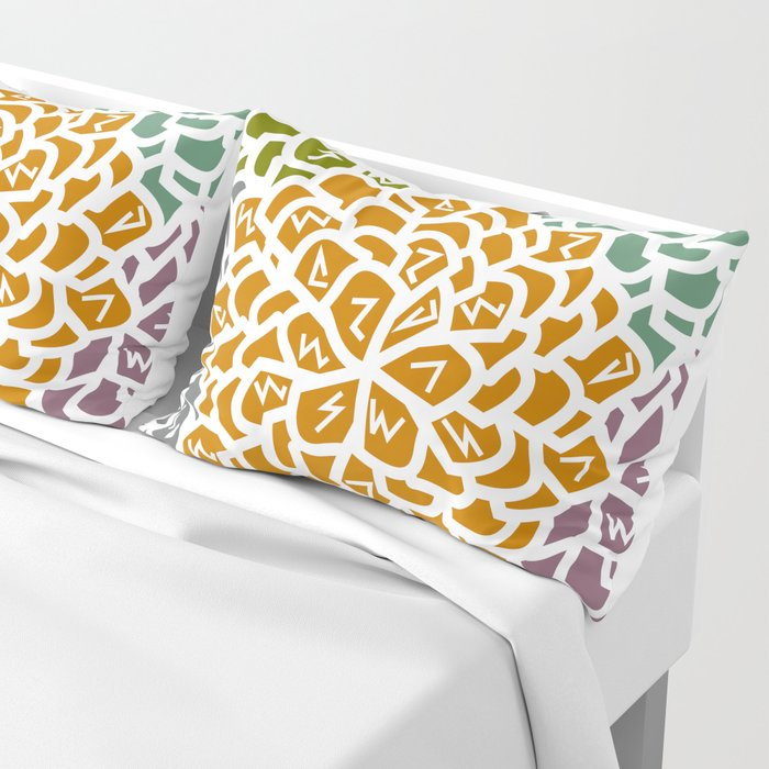 Floral decoration Pillow Sham