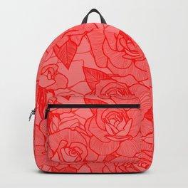 Scarlet Roses 2 Backpack