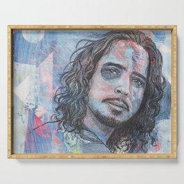 Chris Cornell - Nearly Forgot My Broken Heart Serving Tray