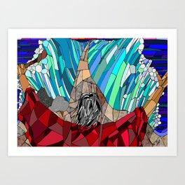 Moses Parting the Red Sea Art Print