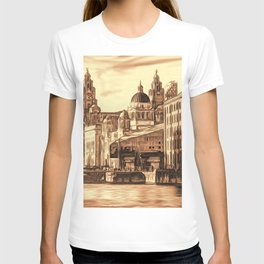 World famous Three Graces (Digital painting) T-shirt