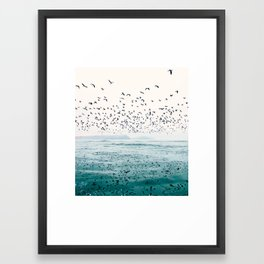 Birds Reflected Fine Art Print Framed Art Print