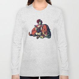 Pin-up Girl Long Sleeve T-shirt