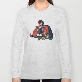 Pin-up Girl Long Sleeve T-shirt