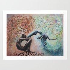 Organic Growth Art Print