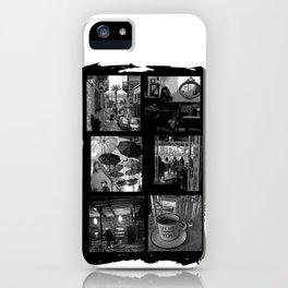 Urban Syros, Greek street life iPhone Case