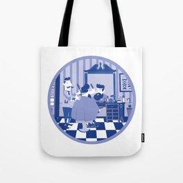 Barber hipster Tote Bag