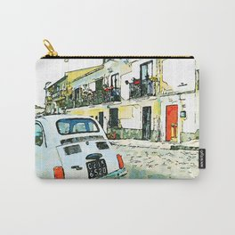Pizzo Calabro: old car parked in a street Carry-All Pouch