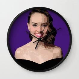 Daisy Ridley Wall Clock