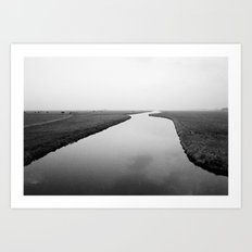 Dutch landscape Art Print