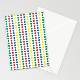 Twister Game Mat Stationery Cards