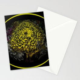 Black Yellow Pink Design Stationery Cards
