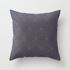 Cuben Wavey Throw Pillow