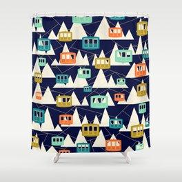 Alpine Wonderland Shower Curtain