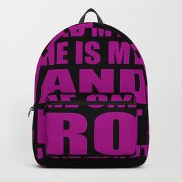 God Is My Rock - Women Girls Backpack