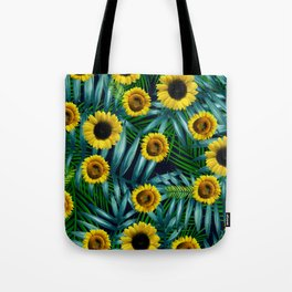 Sunflower Party #2 Tote Bag