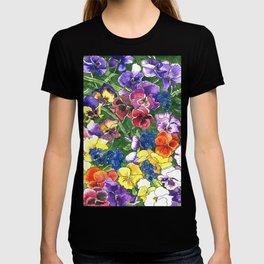 Pansies T-shirt