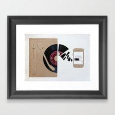 music today Framed Art Print