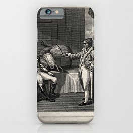 Napoleon Bonaparte's interview with the astronomer at Milan iPhone Case