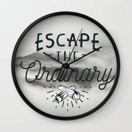 Escape the ordinary Wall Clock