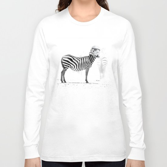 Trooper Stripes  _ Star Wars _ Zebra Long Sleeve T-shirt